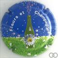 Champagne capsule 4 Fond bleu