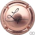 Champagne capsule 13.c Rosé et noir
