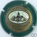 Champagne capsule 12 Contour vert