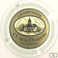 Champagne capsule 10 Contour blanc cassé