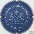 Champagne capsule 3 Bleu et blanc