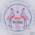 Champagne capsule  Happy New Year 2019