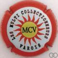 Champagne capsule 191.aa MVC, contour rouge