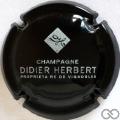Champagne capsule  Noir et argent