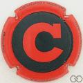 Champagne capsule 189.b Noir, C rouge