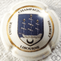 Champagne capsule A18 Porcelaine Libourne