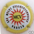 Champagne capsule 191 MVC, contour jaune