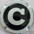 Champagne capsule 189.a Noir, C blanc