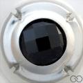 Champagne capsule 11.c Insert, pierre noire