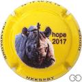 Champagne capsule 194.a Rhinocéros, en relief