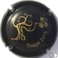 Champagne capsule 5.b Noir mat, tirage 2015