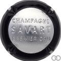 Champagne capsule 45.d Estampée noir