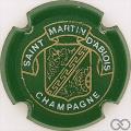 Champagne capsule 5 Vert