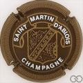 Champagne capsule 6 Marron, striée