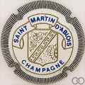 Champagne capsule 12 Blanc, striée