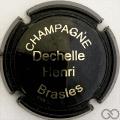 Champagne capsule A1 Opalis, noir et or
