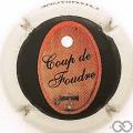 Champagne capsule 3.a Coup de Foudre, Strass Transparant sans nom