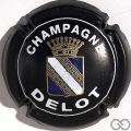 Champagne capsule  Noir mat et blanc