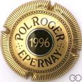 Champagne capsule 1996 Or-bronze